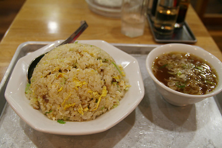 大沢食堂のチャーハン