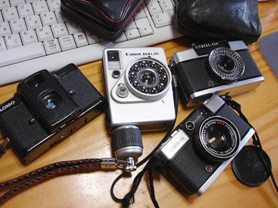 うちの変わったカメラさんたち