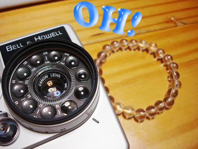 BELL&HOWELLのDIAL35のレンズ